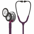 Littmann Classic III Stethoscope 5960 Mirror Chestpiece, Plum Tube, Pink Stem and Smoke Headset, 27 inch, 5960