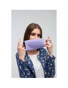 Dwuwarstwowe zmywalne bawełniane maski na usta 10 sztuk