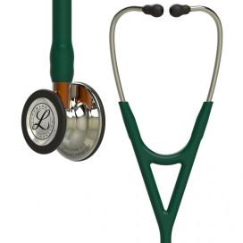 Stetoskop Littmann Cardiology IV, ciemnozielona rurka, szampan