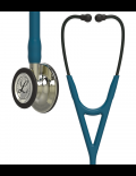 Littmann Cardiology IV Stethoscope 6190 Champagne Caribbean Blue